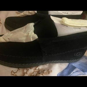 Ugg Moccasins in Black